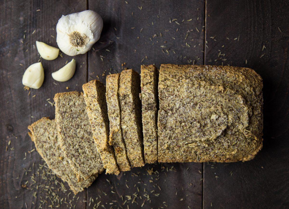 Garlic Rosemary Paleo Bread