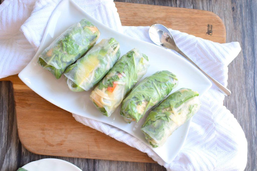 avocado spring rolls