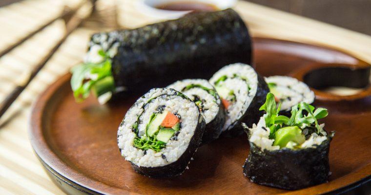 Vegetable Nori Rolls