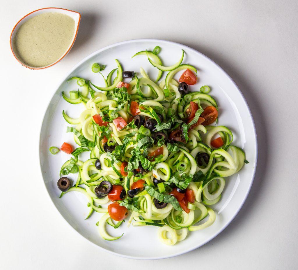 Zucchini Noodle Salad 2