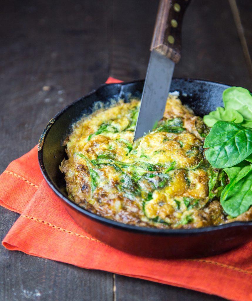 Mixed Veggie Frittata | Natural Tasty Chef