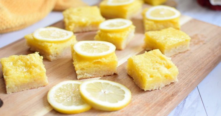 Anti Candida Lemon Bar Recipe