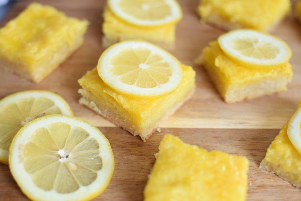 Anti-Candida Lemon Bars