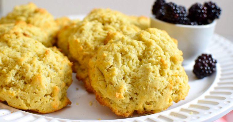 Gluten Free Rustic Vanilla Scones