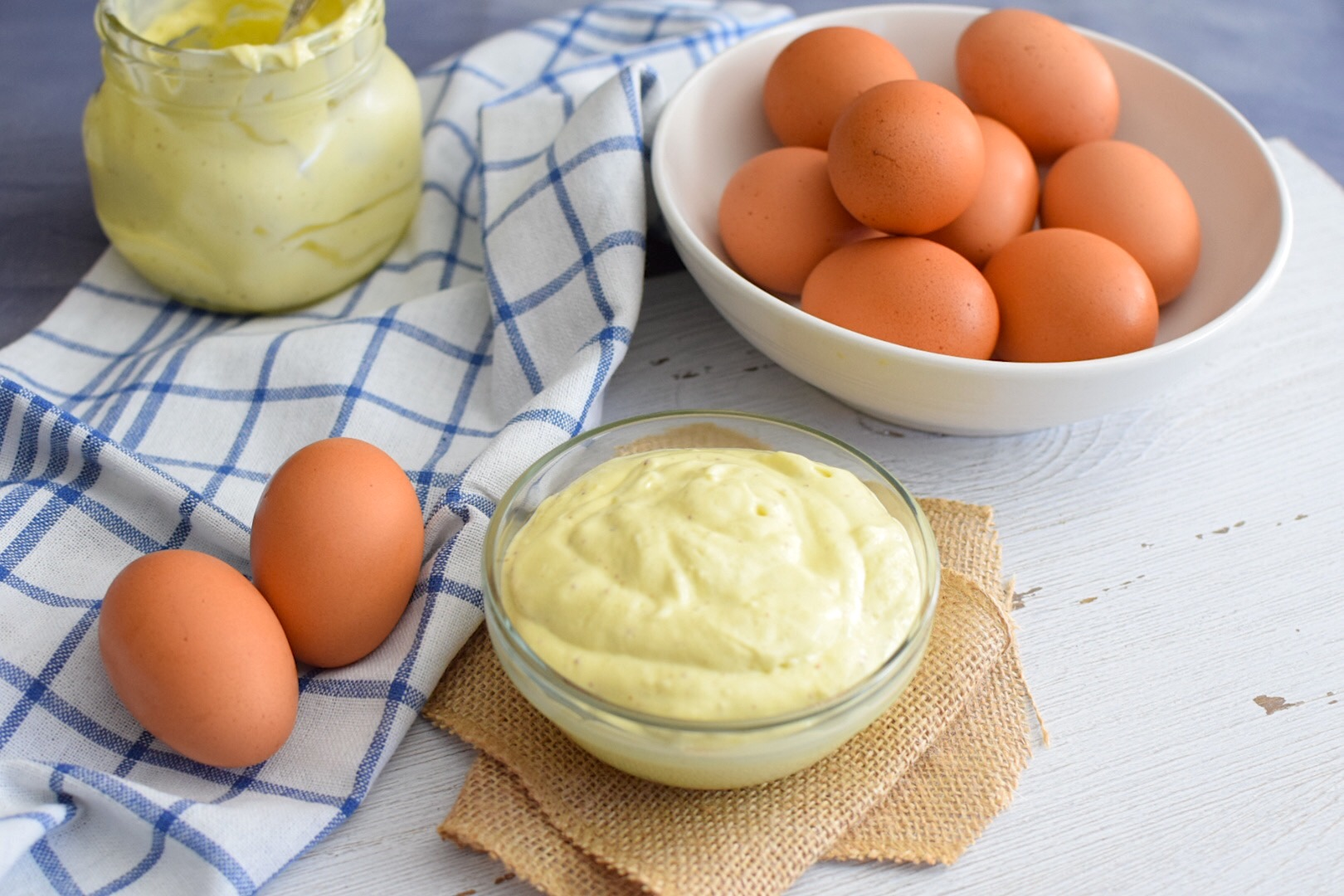 Healthy Homemade Mayonnaise