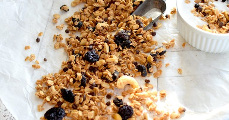 Cherry Dark Chocolate Granola