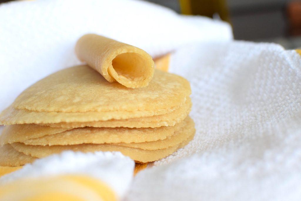Nut free paleo tortillas
