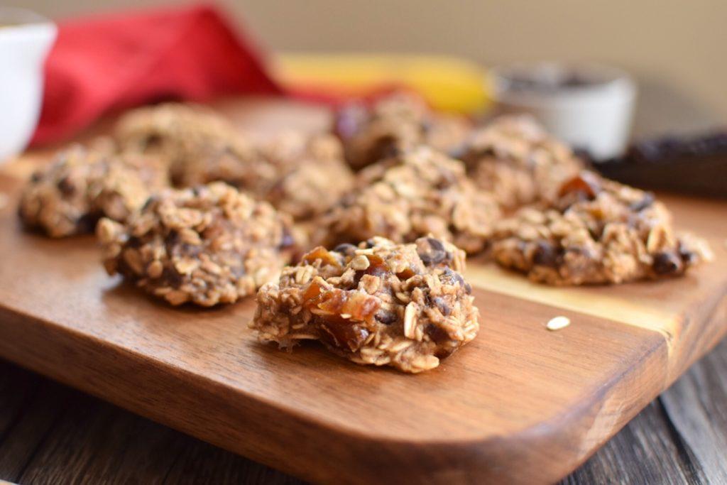 Easy Banana Oat Cookies