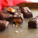 vegan and gluten free twix bars