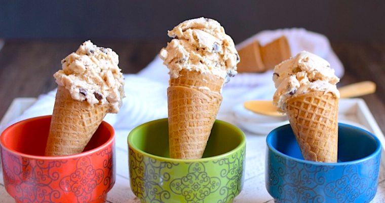 Vegan Peanut Butter Chocolate Chip Ice Cream