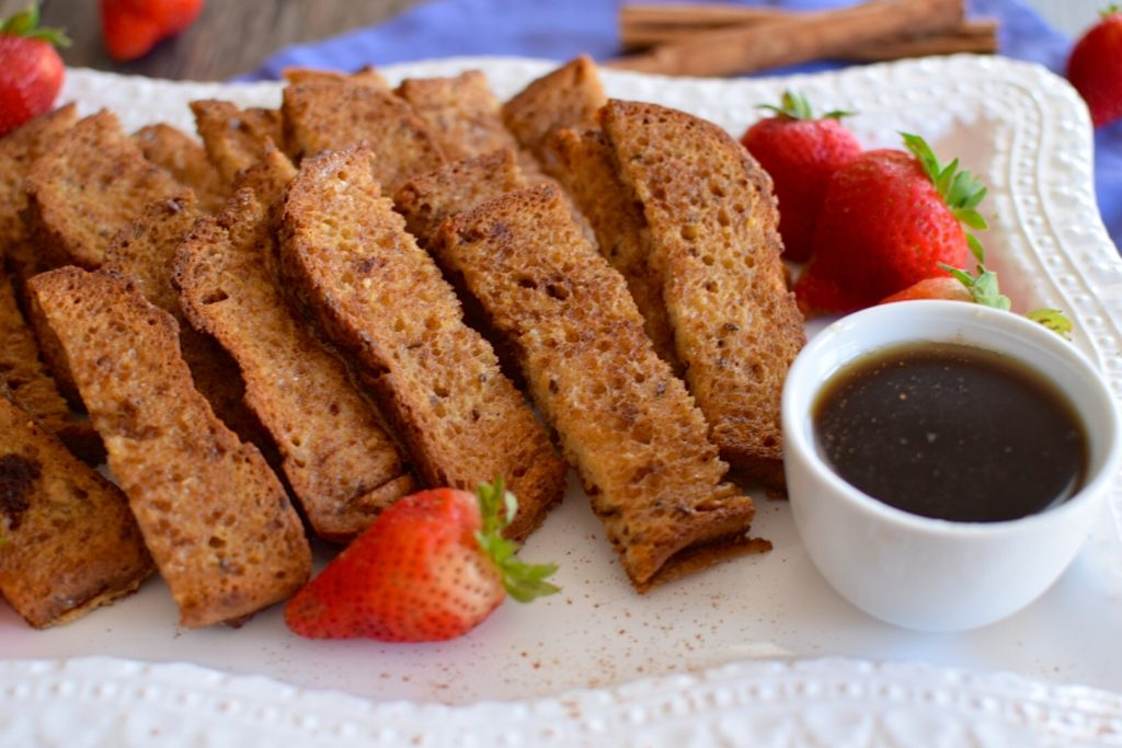 Gluten Free French Toast Sticks