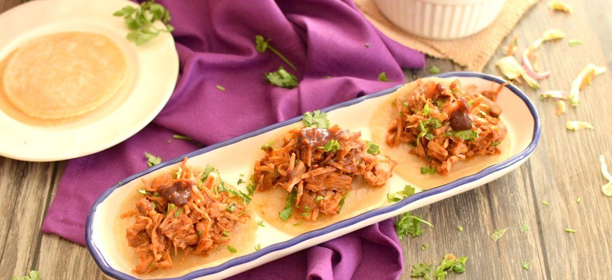 Spicy Vegan Jackfruit Tacos