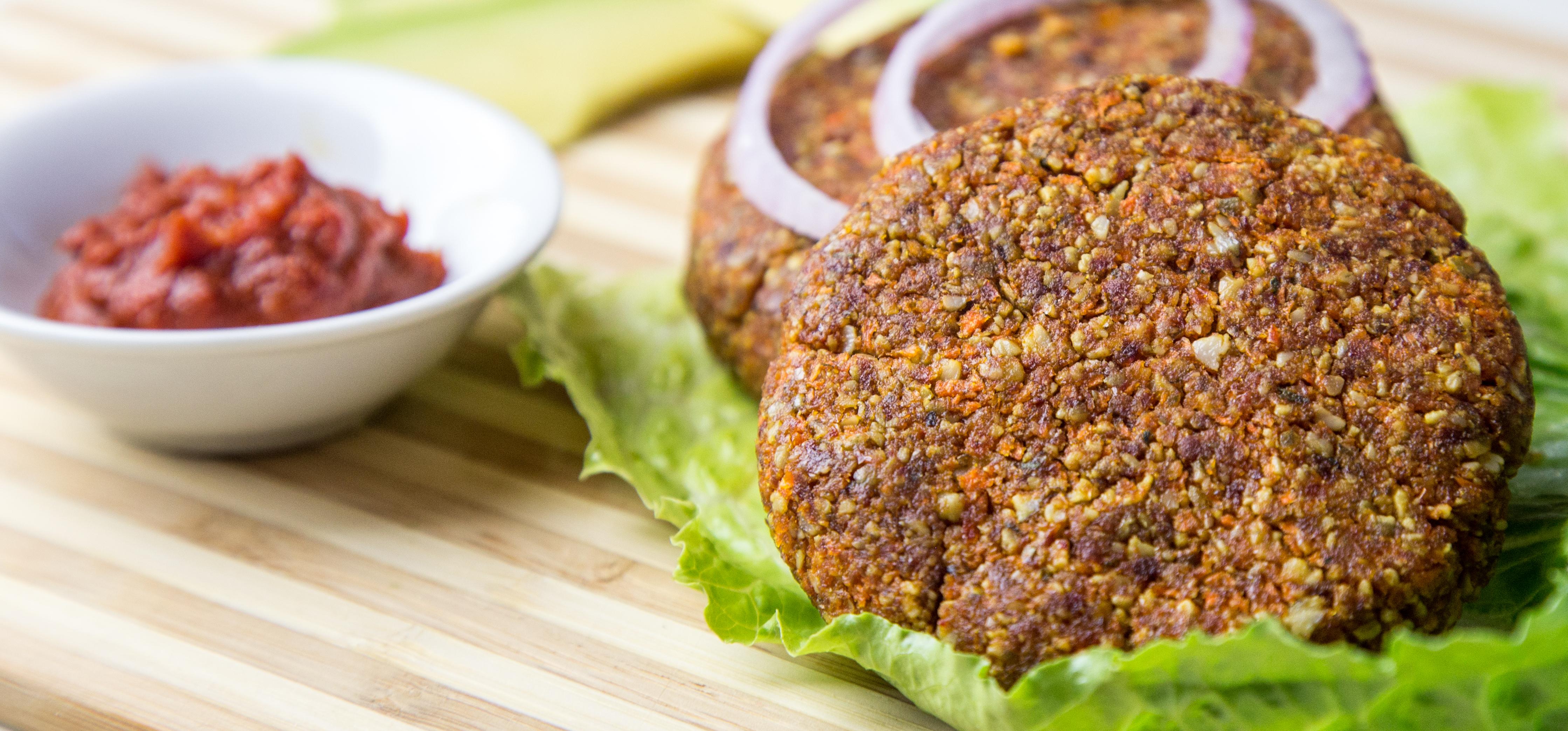 Grain Free Magnesium Rich Vegan Burgers