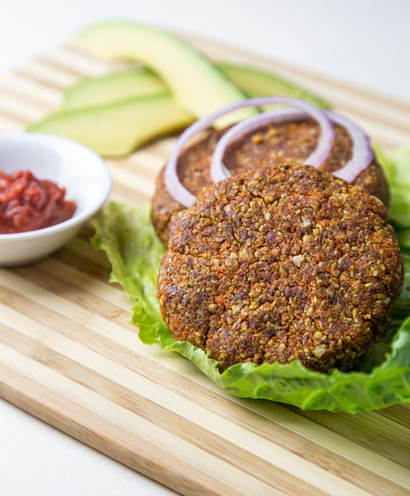 Magnesium Rich Vegan Burgers