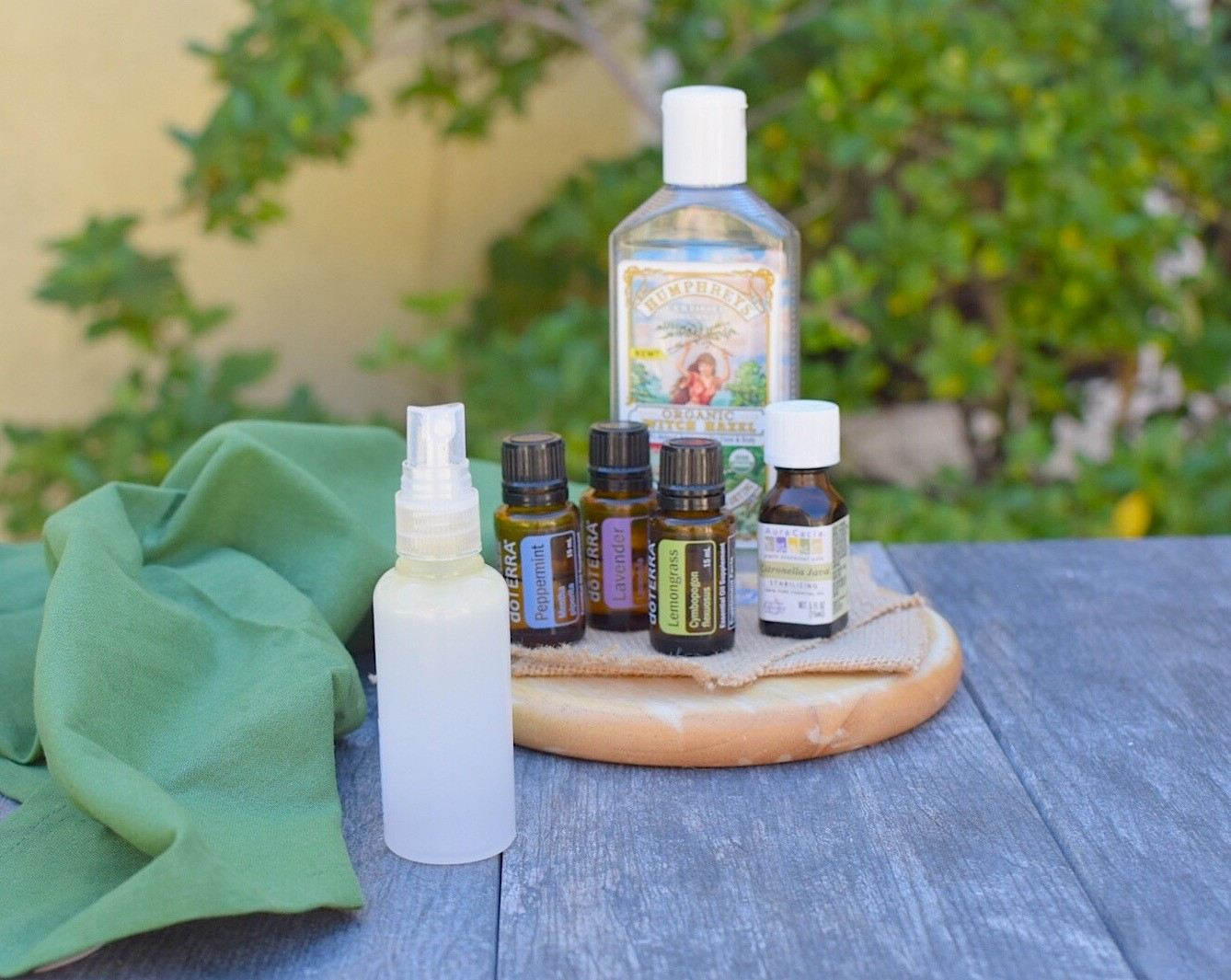 DIY Non-Toxic Bug Spray
