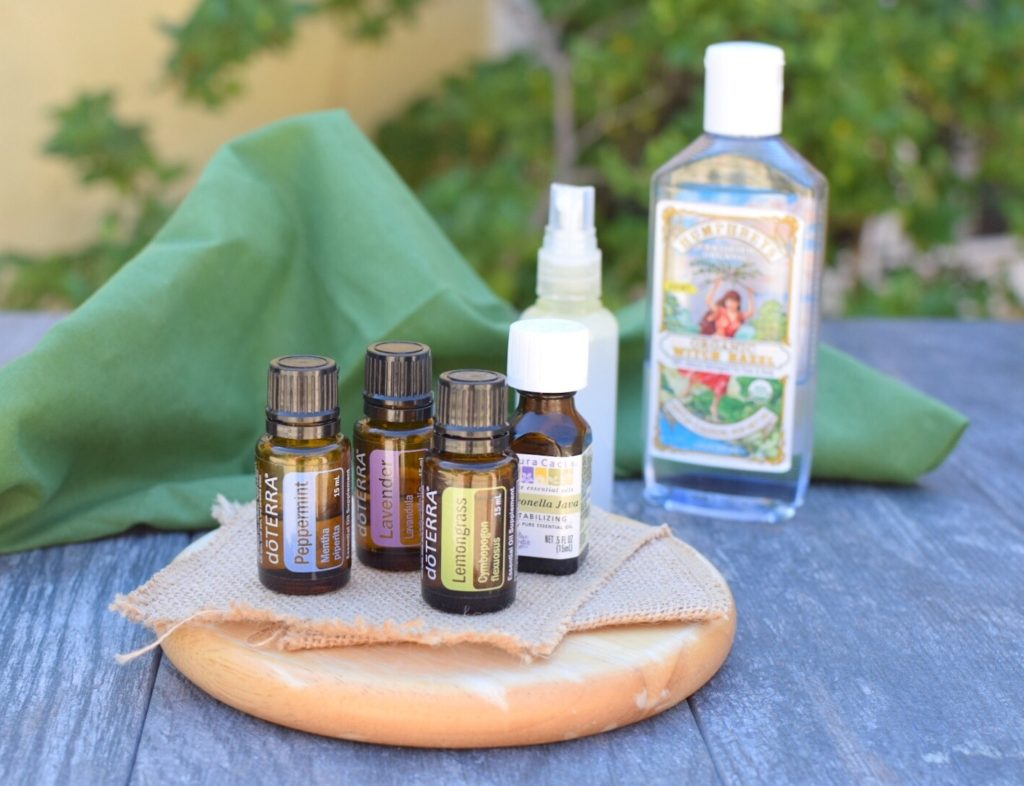 DIY non-toxic buy spray