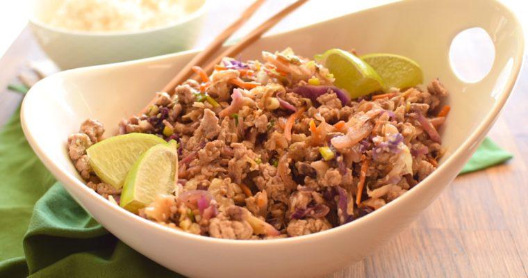 Healthy Asian Turkey Cabbage Sauté – Anti Candida