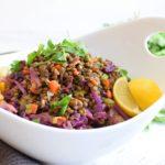 Healthy Vegan Lentil Salad
