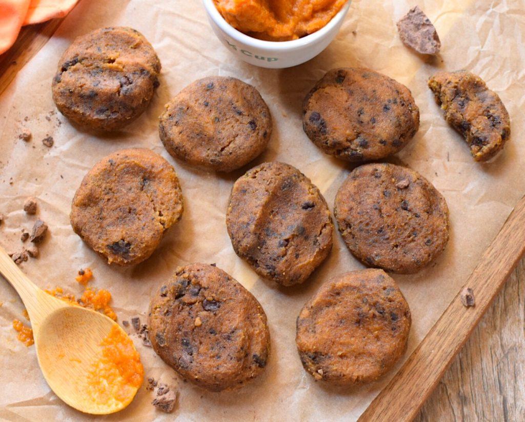 Sugar-Free Fudgy Pumpkin Cookies for an Anti-Candida Diet